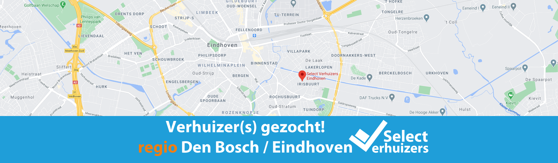 Verhuizers gezocht regio Den Bosch - Eindhoven