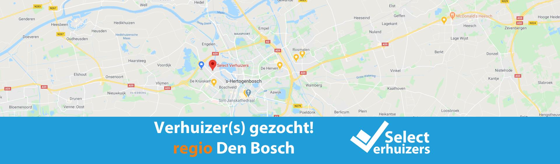 Vacature: verhuizer 3 - Regio Den Bosch
