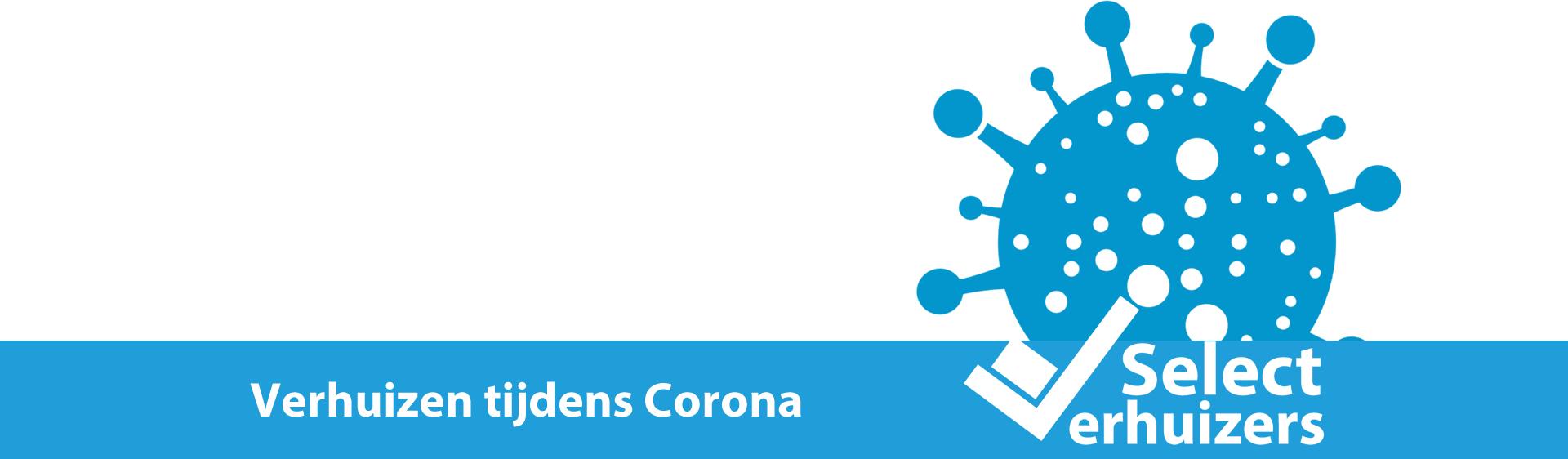 Verhuizen tijdens het Coronavirus